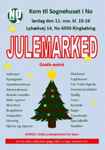 Julemarked i No Sognehus 11. november 2017