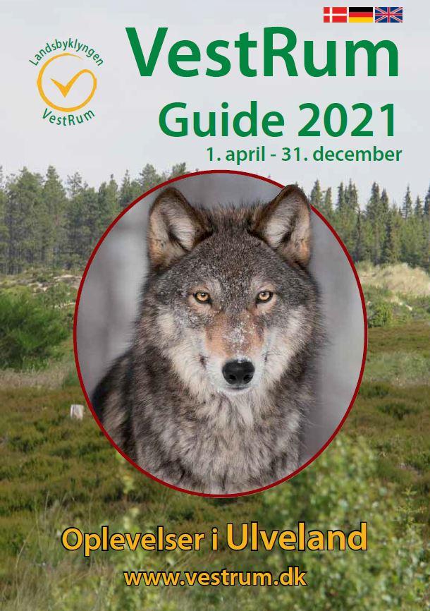 Forsiden af VestRum Guide 2021