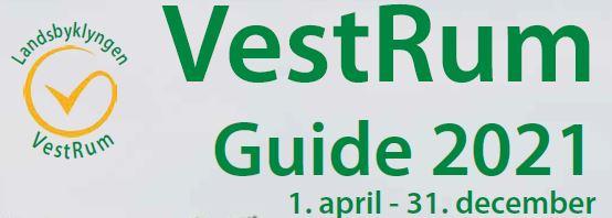 VestRum Guide 2021 udsnit af forsiden